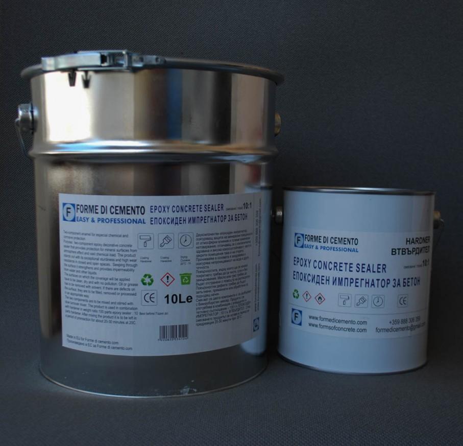 епоксиден импрегнатор за бетон 10л.