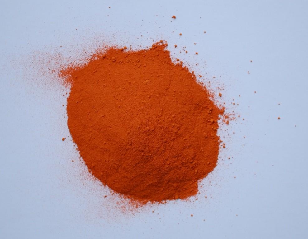 оксидна боя оранжево